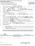 ミャンマーのビザ申請書